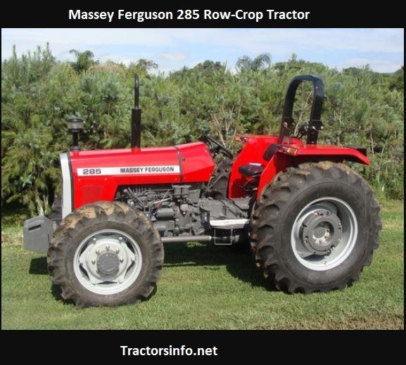 Massey Ferguson 285 Price, Specs, Reviews, Horsepower