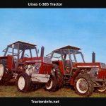 Ursus C-385 Tractor Price, Specs, Review
