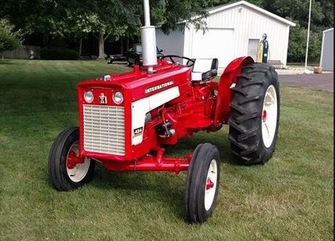 international 424 tractor specs
