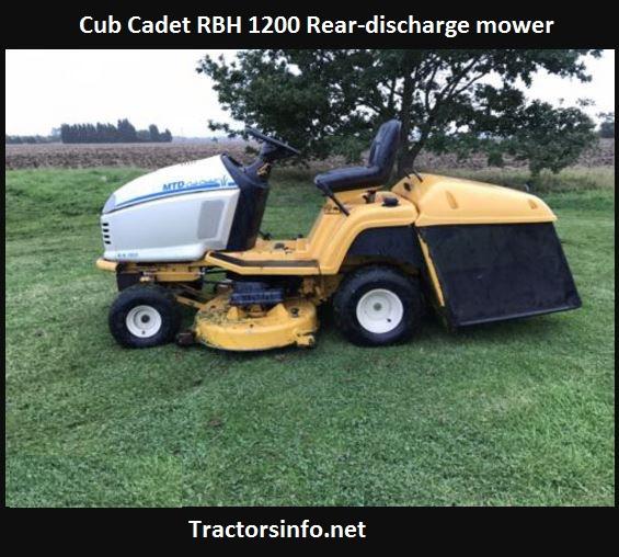 Cub Cadet RBH 1200 Price, Specs, Review, Attachments