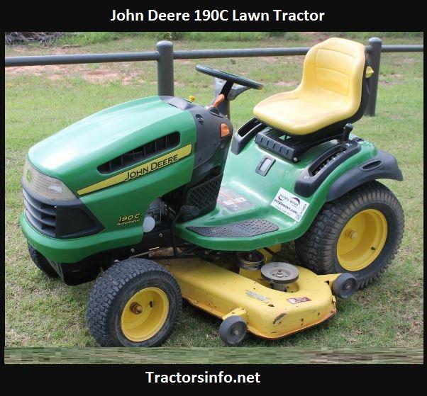 John Deere 190C Specs, Price, Reviews, Attachments