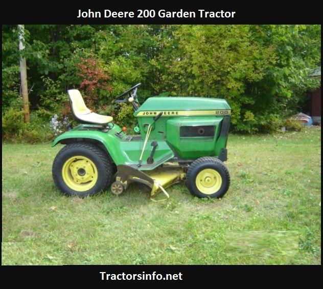 John Deere 200 Price, Specs, Review, Attachents