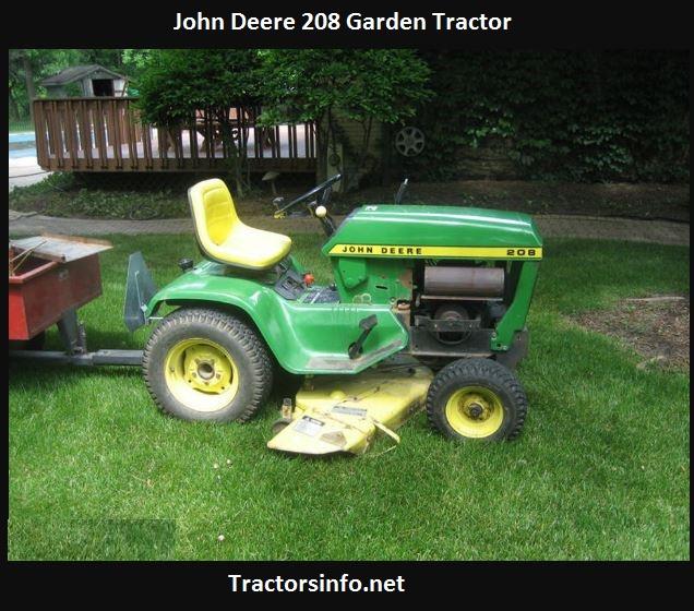John Deere 208 Specs, Price, Review, Attachments