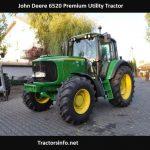 John Deere 6520 Premium HP, Price, Specs, Review