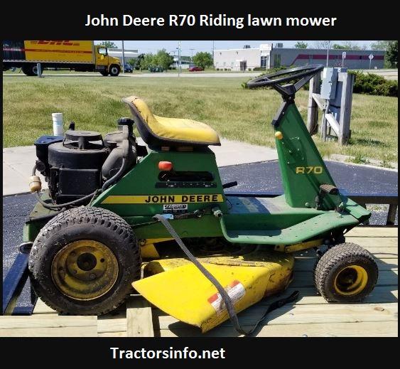 John Deere R70 Price, Specs, Review, Attachments