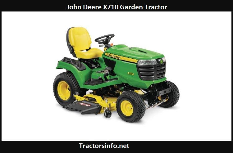 John Deere X710 Price, Specs, Reviews, Attachments