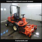 Kubota F2680 Specs, Price, Reviews, Attachments