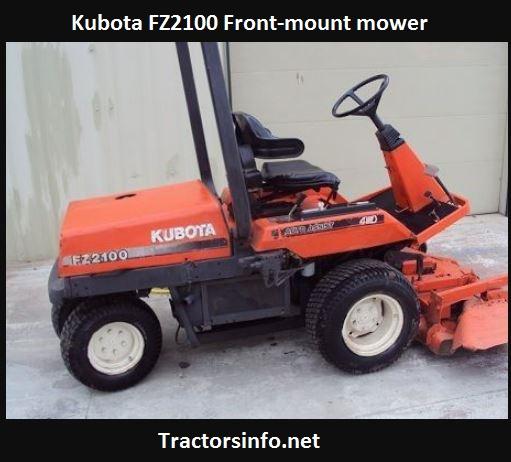 Kubota FZ2100 Specs, Price, Review, Attachments