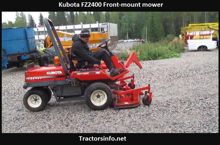 Kubota FZ2400 Specs, Price, Review, Attachments