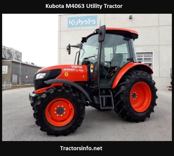 Kubota M4063 Utility Tractor Price, Specs, Attachments