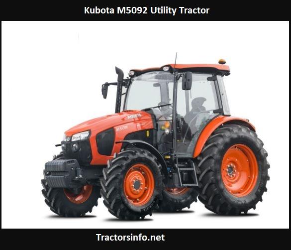 Kubota M5092 Utility Tractor Price, Specs, Review