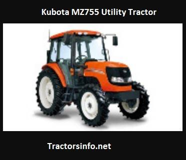 Kubota MZ755 Utility Tractor Price, Specs, Review