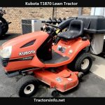 Kubota T1870 Price, Specs, Review, Attachments