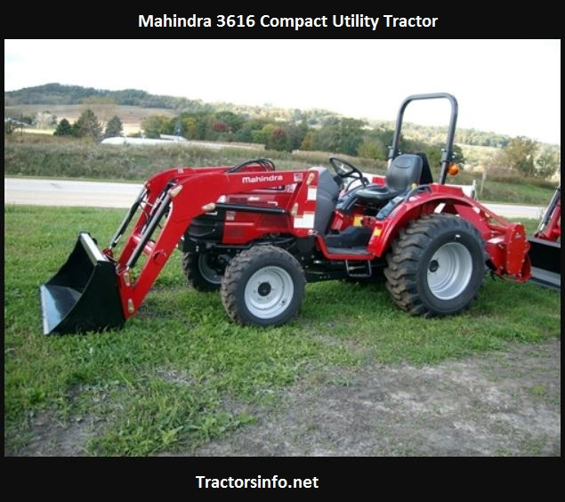 Mahindra 3616 Specs, Price, Review, Attachments