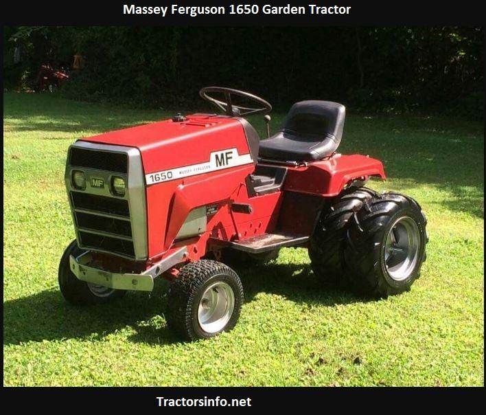 Massey Ferguson 1650 Price, Specs, Review, Attachments