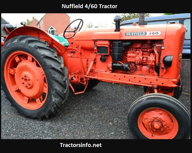 Nuffield 4-60 Tractor Price, Specs, Review