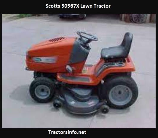 Scotts 50567X Lawn Tractor Price, Specs, Attachments