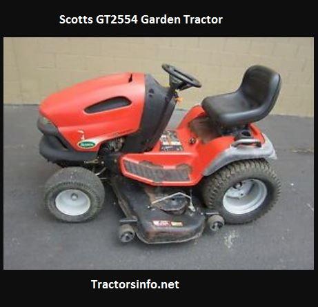 Scotts GT2554 Garden Tractor Price, Specs, Attachments