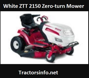 White ZTT 2150 Zero-turn Mower Price, Specs, Attachments