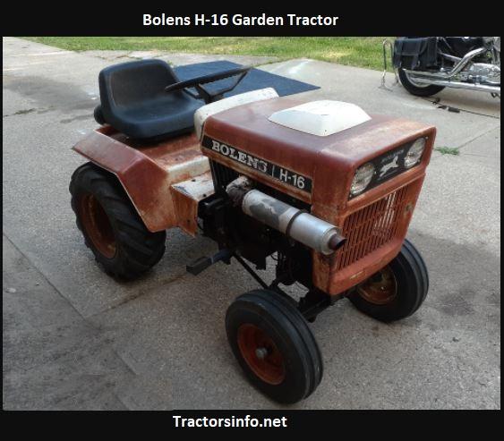 Bolens H-16 Price, Specs, Review, HP, Attachments