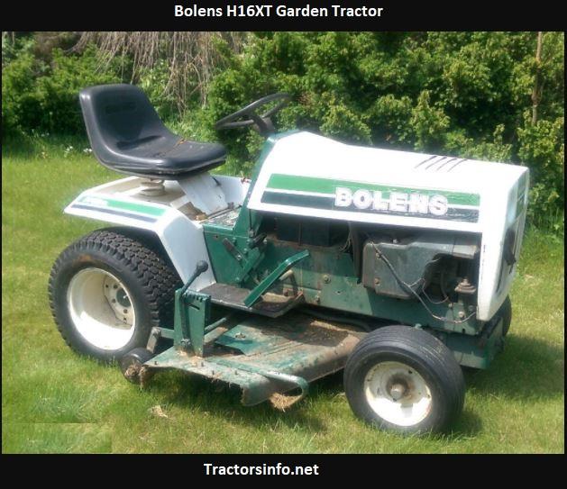 Bolens H16XT Garden Tractor Price, Specs, Attachments