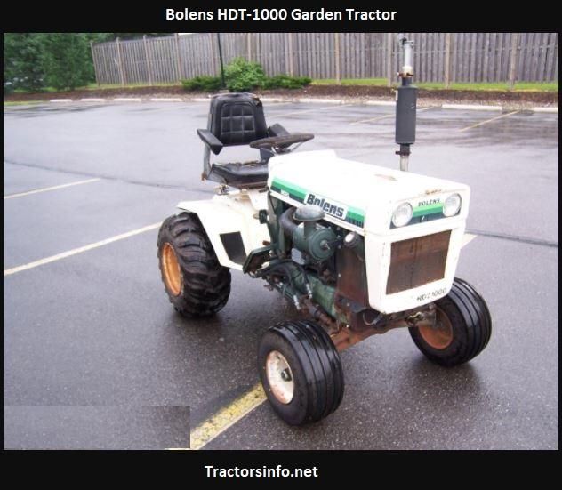 Bolens HDT-1000 Specs, Price, Review, Attachments