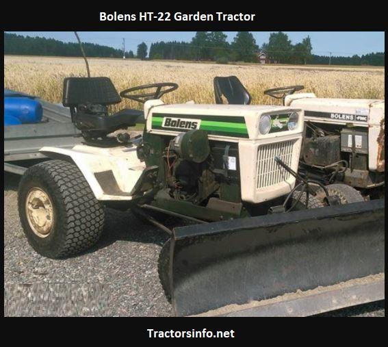 Bolens HT-22 Garden Tractor Price, Specs, Review, Attachments