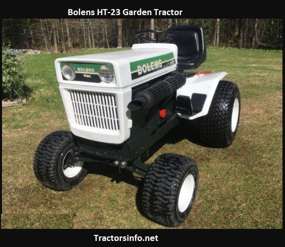 Bolens HT-23 Garden Tractor Price, Specs, Review, Attachments