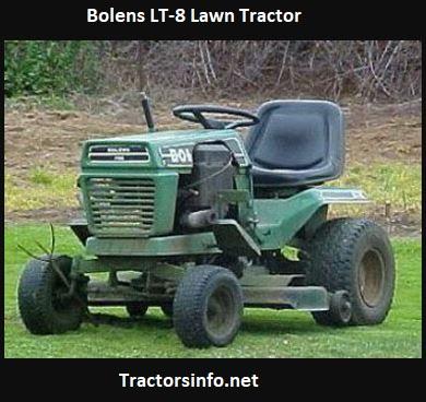 Bolens LT-8 Price, Specs, Attachments, Features