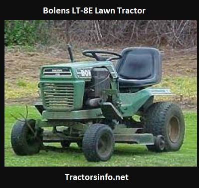 Bolens LT-8E Lawn Tractor Price, Specs, Attachments