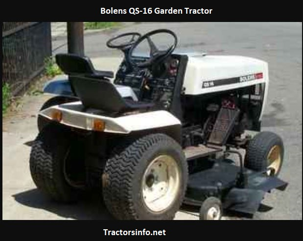 Bolens QS-16 Price, Specs, Review, Attachments