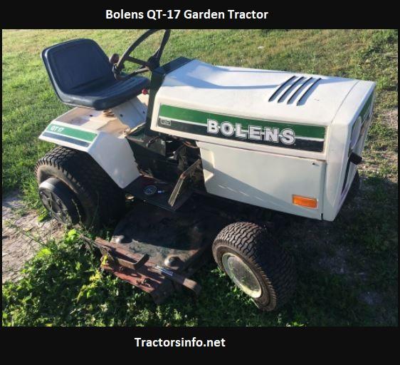 Bolens QT-17 Garden Tractor Price, Specs, Review, Attachments