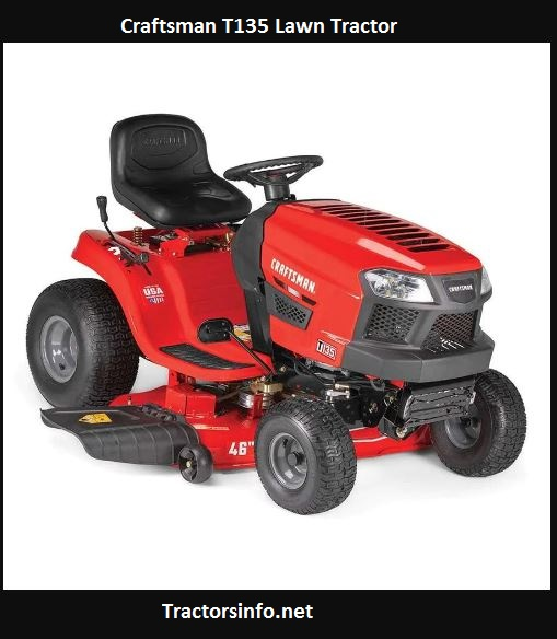 Craftsman T135 Lawn Tractor Price, Specs, Review