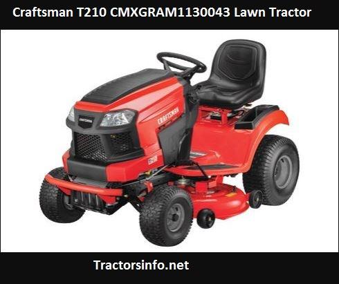 Craftsman T210 CMXGRAM1130043 Price, Specs, Review