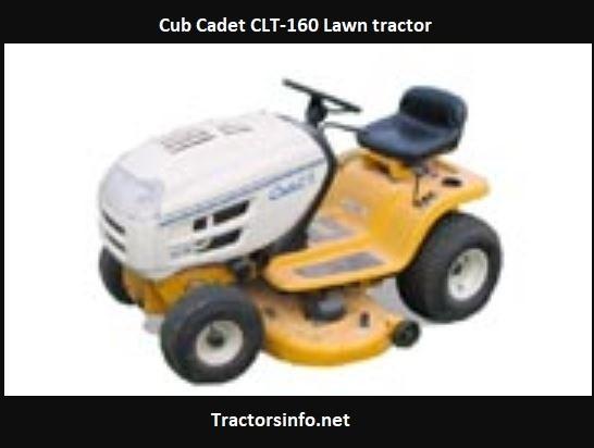 Cub Cadet CLT-160 Price, Specs, HP, Review, Attachments