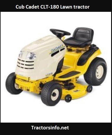 Cub Cadet CLT-180 Lawn Tractor Price, Specs, Attachments