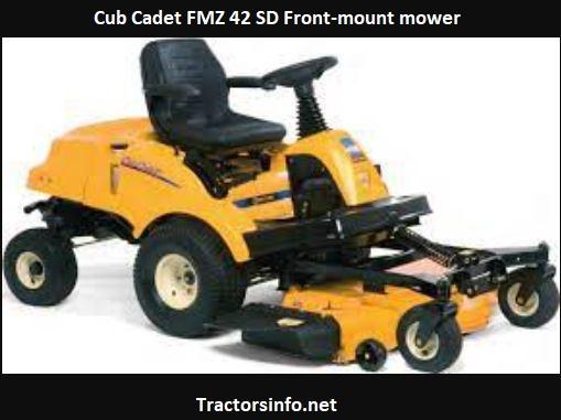 Cub Cadet FMZ 42 SD Price, Specs, Review, Attachments