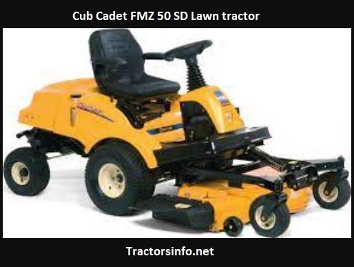Cub Cadet FMZ 50 SD Price, Specs, Review, Attachments