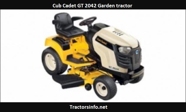 Cub Cadet GT 2042 Price, Specs, Review, Attachments