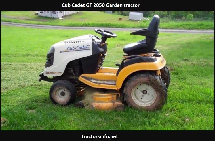 Cub Cadet GT 2050 HP, Price, Specs, Attachments