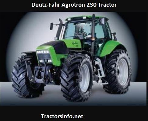 Deutz-Fahr Agrotron 230 HP, Price, Specs, Review