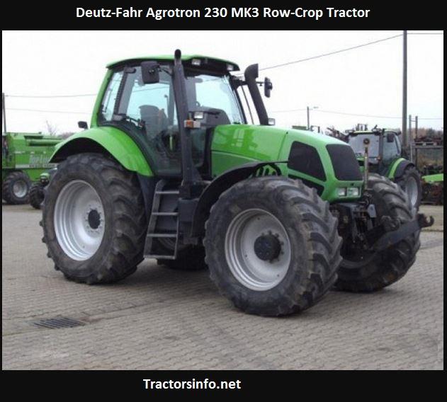 Deutz-Fahr Agrotron 230 MK3 Price, Specs, Features