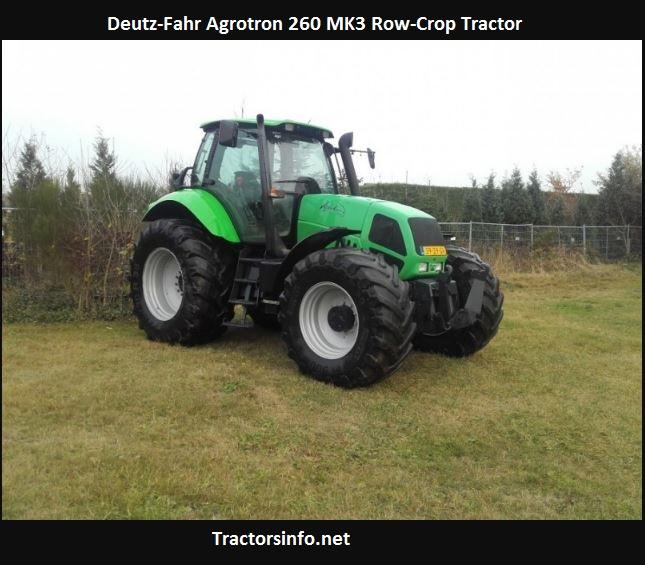 Deutz-Fahr Agrotron 260 MK3 Price, Specs, Review