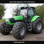 Deutz-Fahr Agrotron TTV 1145 Price, Specs, Review, Features