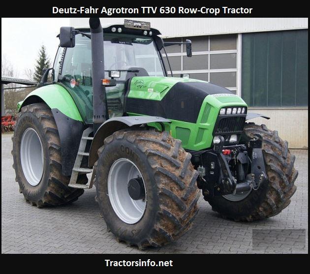 Deutz-Fahr Agrotron TTV 630 Specs, Price, Review, Features