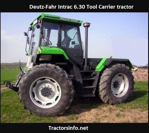 Deutz-Fahr Intrac 6.30 Tool Carrier Tractor Price, Specs, Review