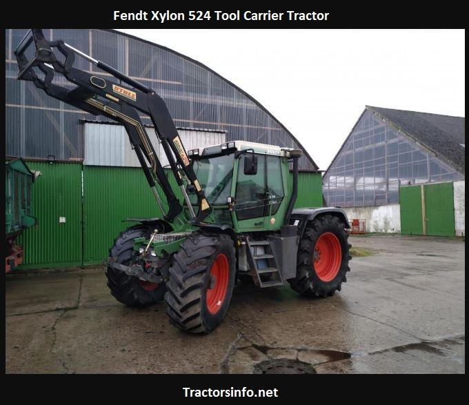 Fendt Xylon 524 Price, Specs, Features