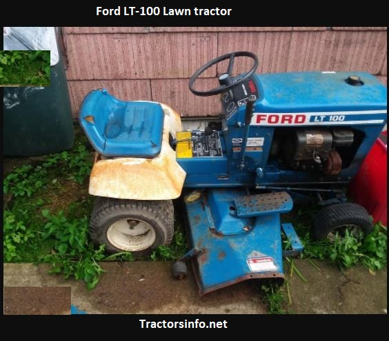 Ford LT-100 Lawn Tractor Price, Specs, Review, Attachments