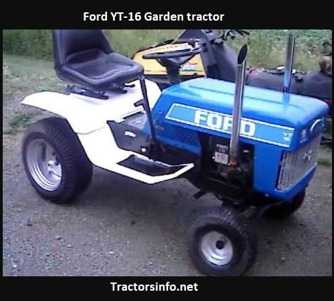 Ford YT-16 Garden Tractor Price, Specs, Review, Attachments