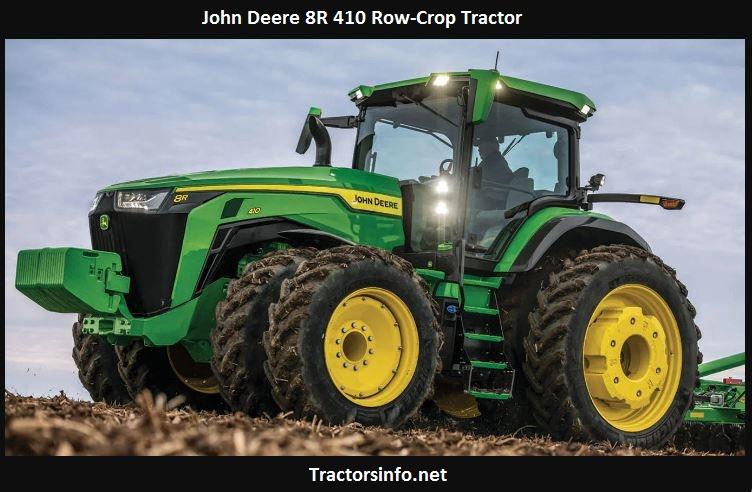 John Deere 8R 410 Price, Specs, Review, Horsepower